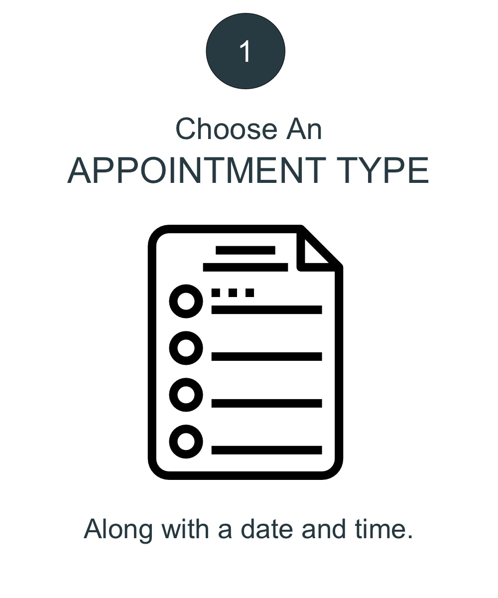 Choose Appointment Type